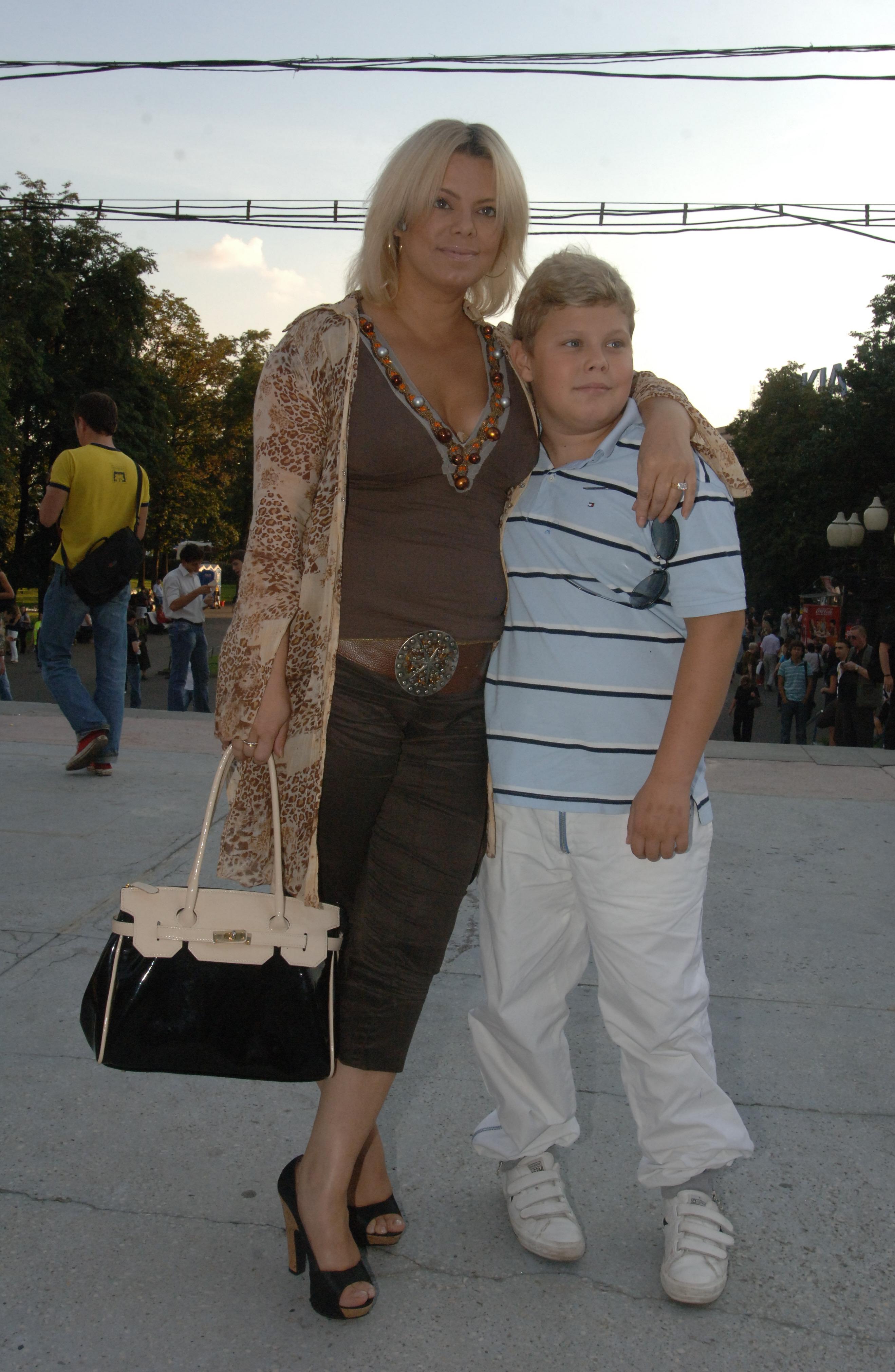 Яна поплавская муж дети фото