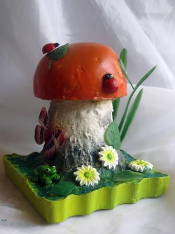 Как сделать поделку гриб для детсада - Val-spb.ru