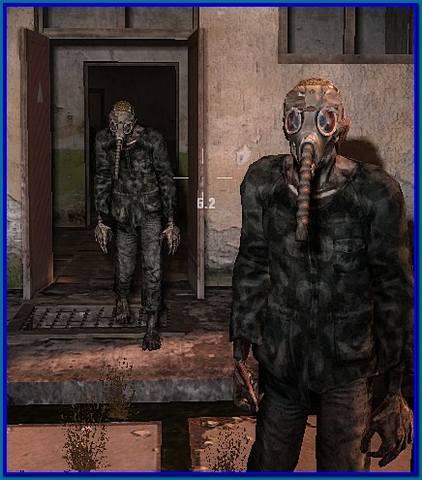 Zombie gazmask v.2