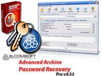 Advanced Archive ��������� ��������� Password Recovery Professional ������� v4.54