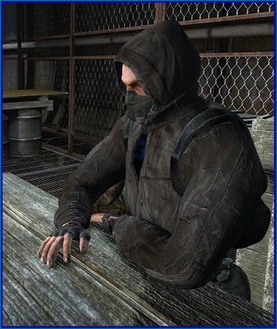 Ретекстур куртки новичка