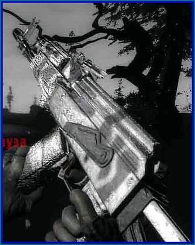 Маскировочная текстура АК - 74