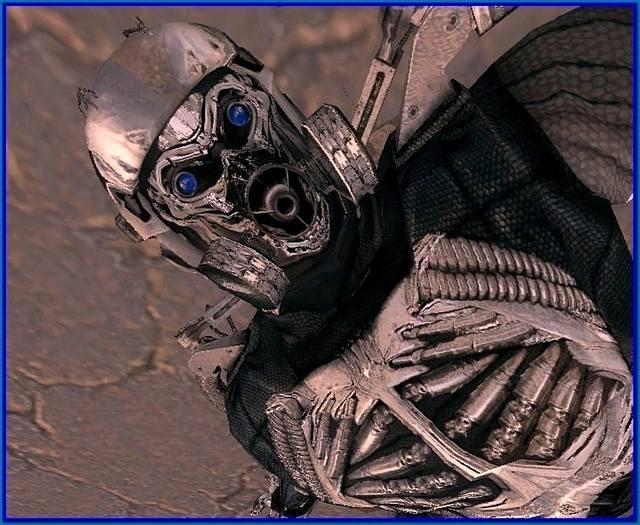 текстуры экзоскелета