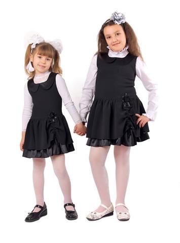 Описание модные школьные сарафаны
