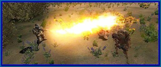 новое оружие огнемет для сталкер зп