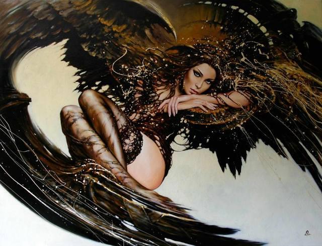 CAUSA,-2011,cykl Fashion -Oil-on-canvas,-100x130-cm263