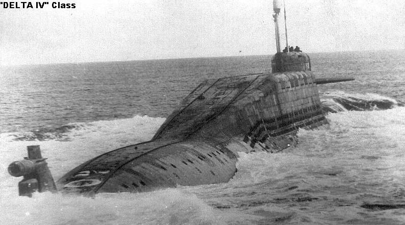 подводная лодка дельта 4 фото