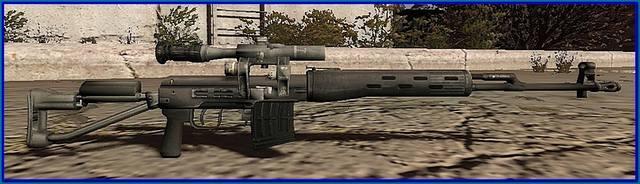 снайперская винтовка для игры сталкер