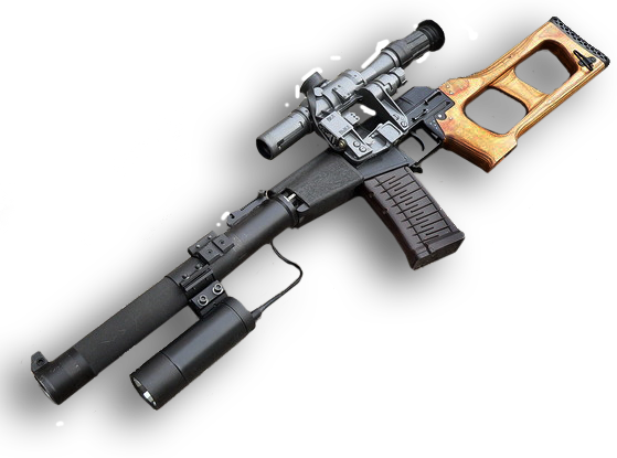 Бесшумная снайперская винтовка