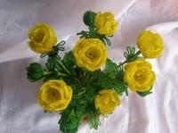 Когда я была маленькая, мне эти цветочки напоминали розочки.  В то время кроме настурции, астры,георгина в наших...