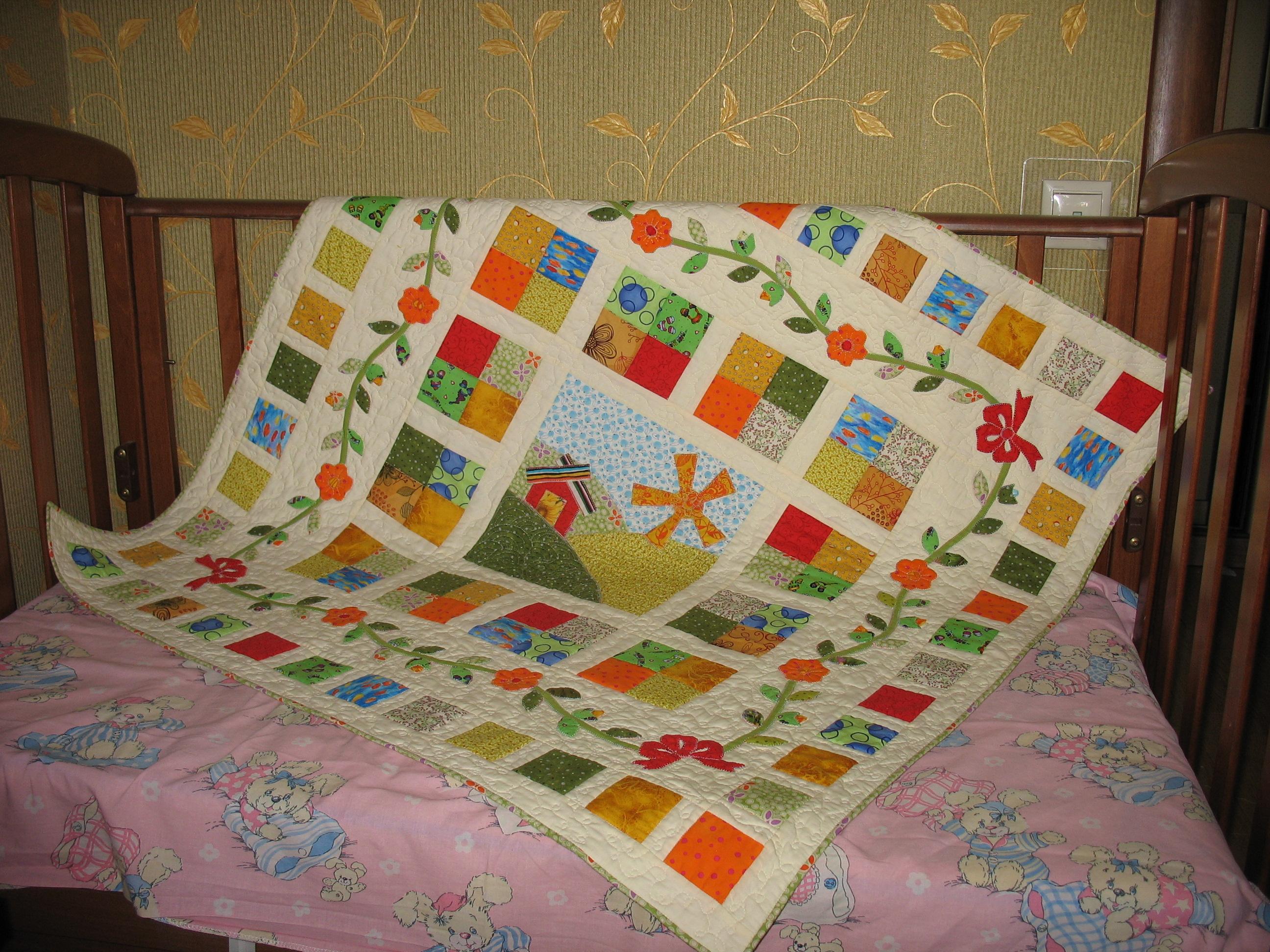 Сшить одеяло для ребенка своими руками 2
