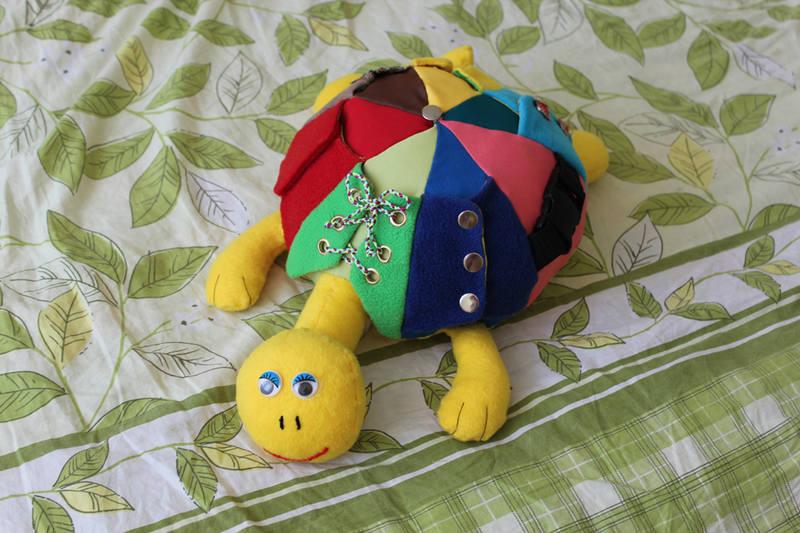Дети черепахи своими руками