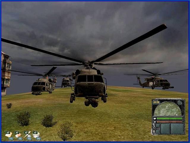 вертолет для сталкера.