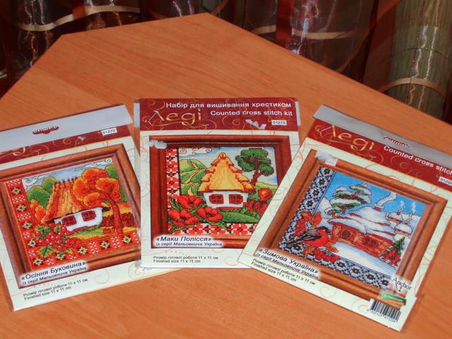 Украинские хатки схемы вышивки