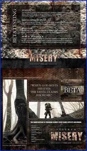 MISERY profilefront beta