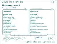 Cours de FRANCAIS. Лингафонный курс французского языка