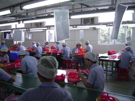 Китай, завод