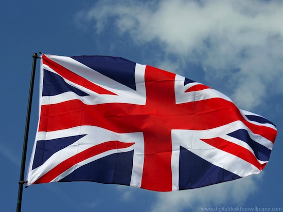 Англия флаг