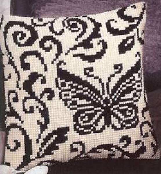Рхема вышивки крестом подушки схема