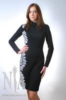 платья из трикотажа фото.
