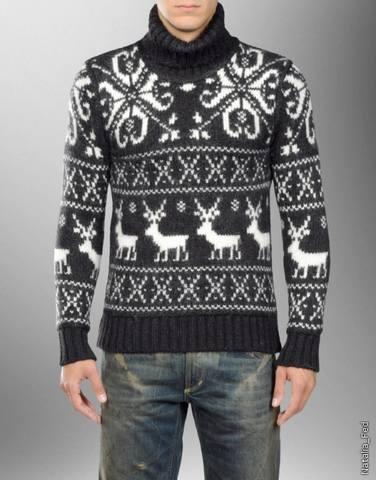 Мужской свитер с оленями от D&G. Понедельник, 17 Января 2011 г. 13:19.
