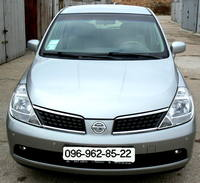 Nissan TIIDA 2008 V-1,6. Автомат.  Пробег 41т. км Безопасность: ABD, ABS, ESP, Иммобилайзер, галоген фары...