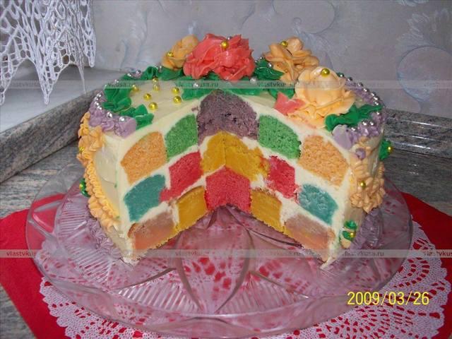 Пошаговые рецепты детских тортов с фото