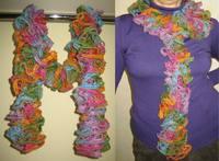 Alize DANTELA scarf