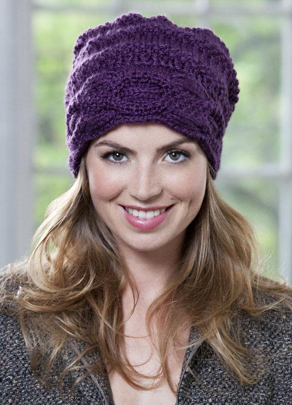 Вязание узоры женских шапок