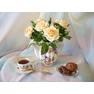 """Букет кустовых чайных роз """"Персидский зной"""""""