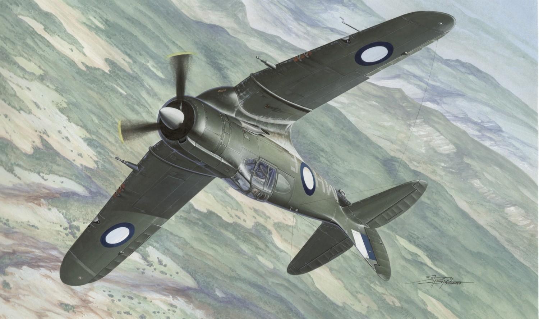 рисунок Истребитель CA-12 Boomerang