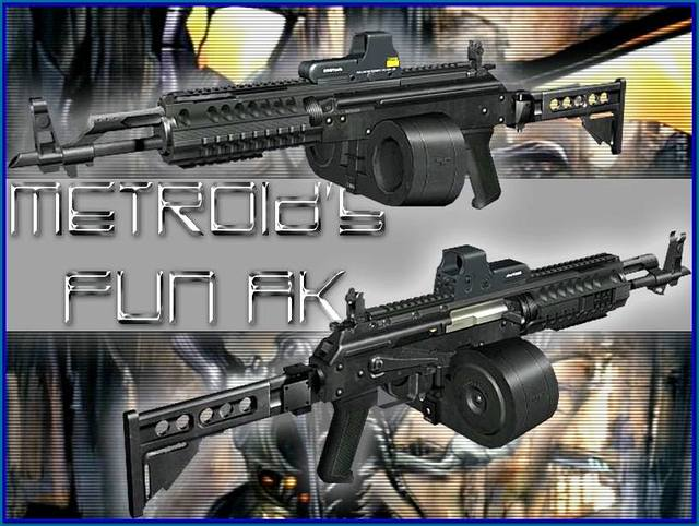 новая модель пулемета для игры сталкер
