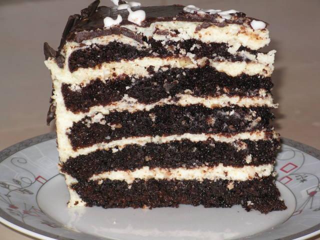 Торт горка рецепт с фото фотоархив