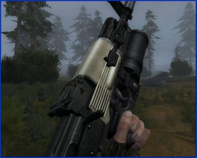 новые модели оружия для зова припяти