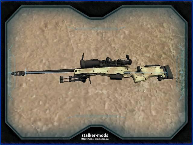 снайперские винтовки для зова припяти