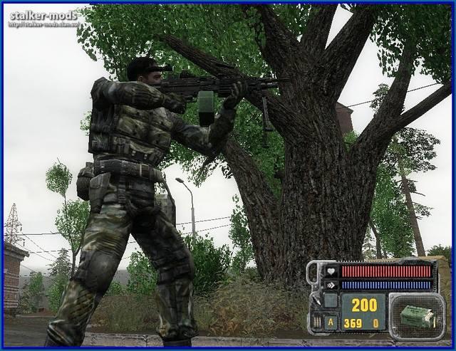 новые модели оружия для зп
