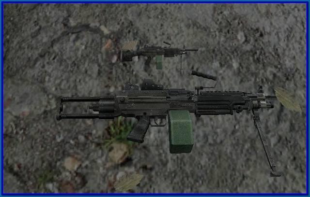 ручной пулемет для зова припяти