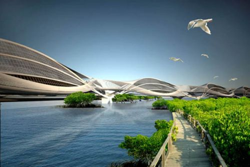 Wetropolis. Тайланд превратят в мангровую Венецию