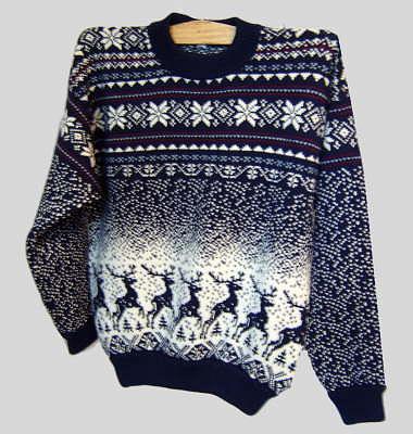 вязание исландского свитера