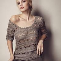 Вязание на осинке пуловеры