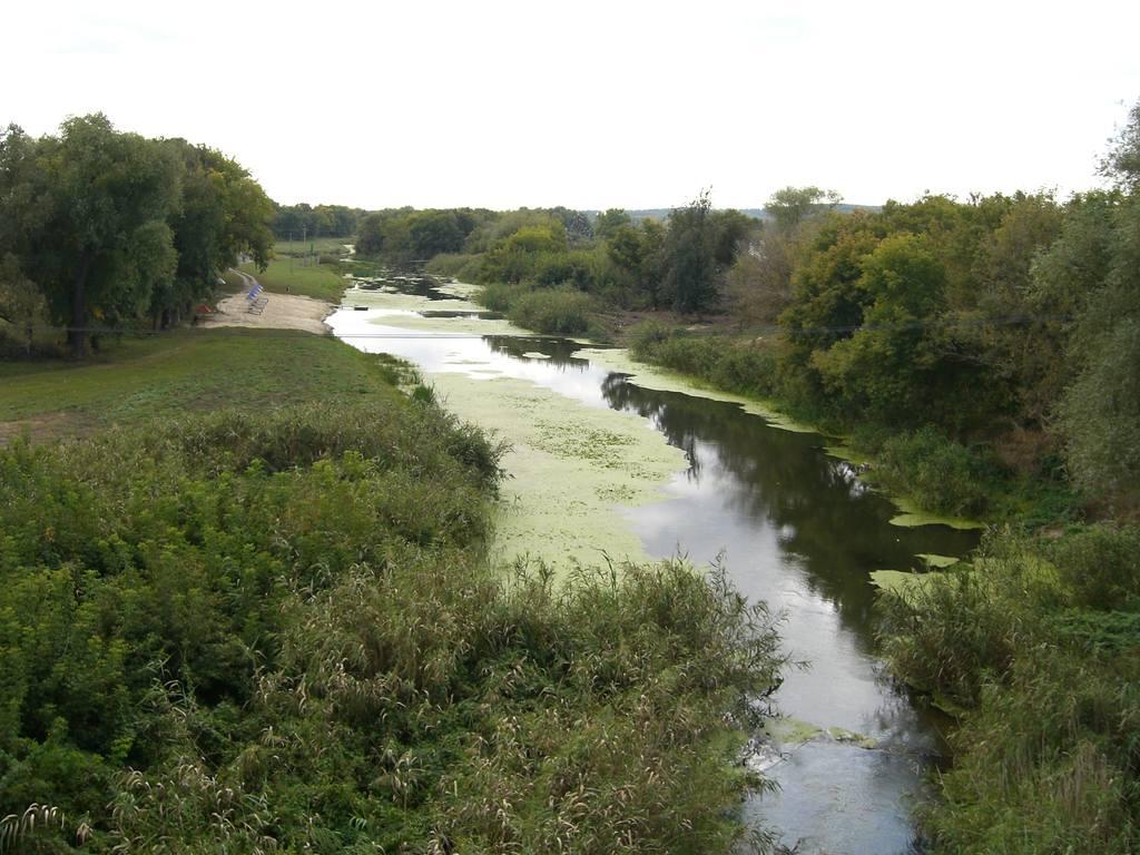 Река Валуй. Вид с моста.