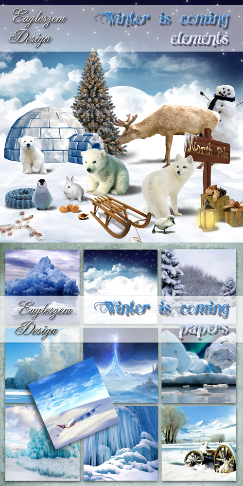 Scrap kit - Winter is Coming