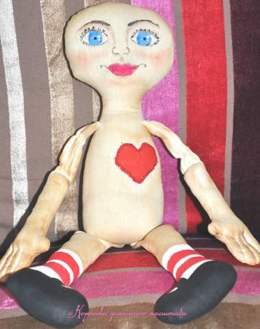 кукла с лицом