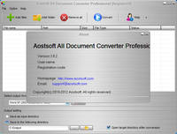 AostSoft All Document Converter Professional 3.8.2 + Portable