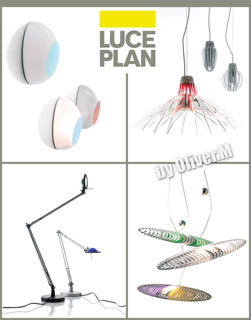 3D models of Lighting Luceplan