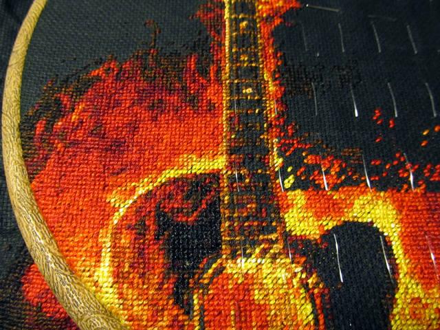 гитары нитками DMC E310