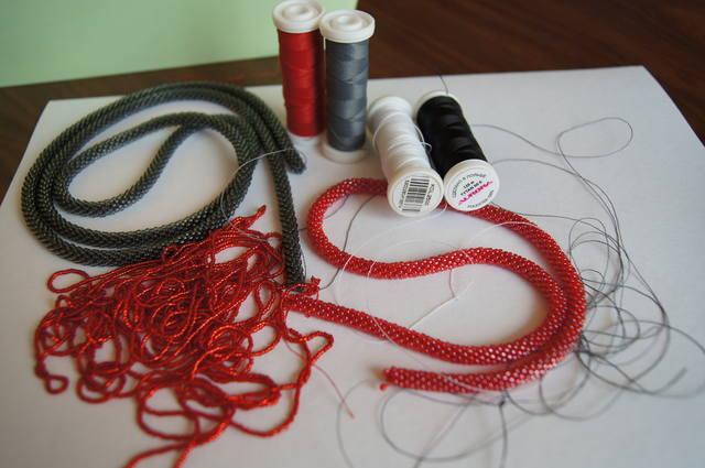 Нитки канарис для вязания жгутов из бисера 88