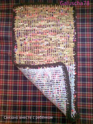 Шапка мужу из Мериносовой Пехорки резинкой в резинке объемной и простой.
