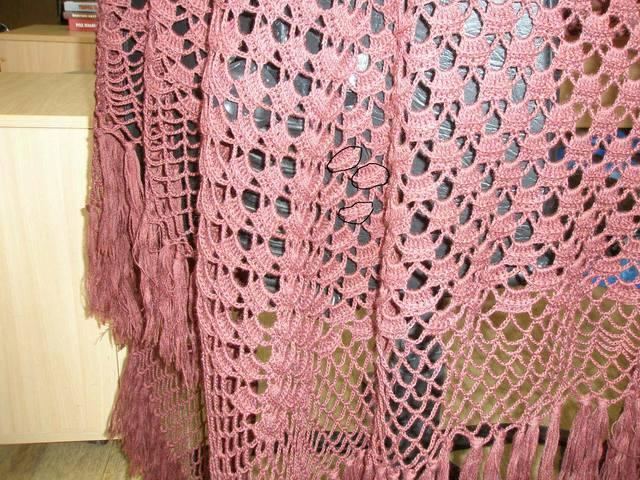 Пряжа для вязания крючком шалей 57