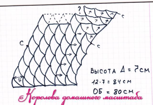 схема жилетика